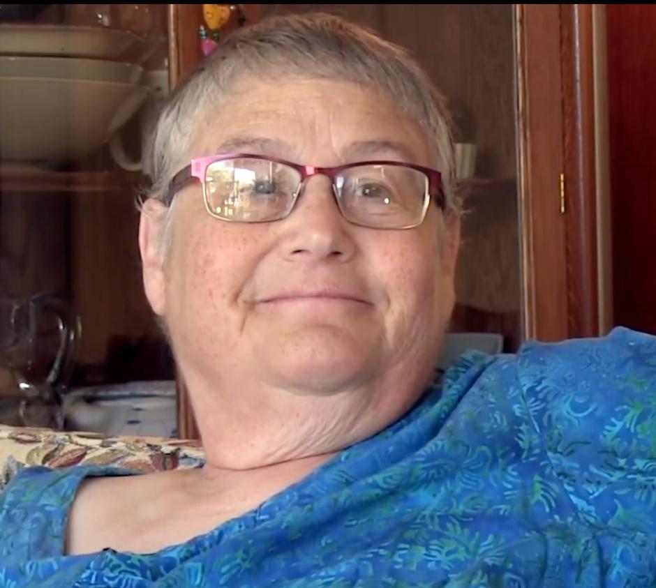 Screenshot of headshot of Chava Weissler from video