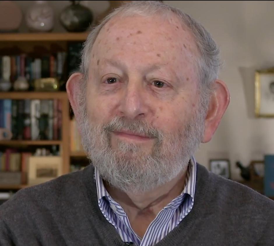 Screenshot of headshot of Gerry Serotta from video