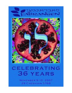 36th Anniversary Booklet Cover